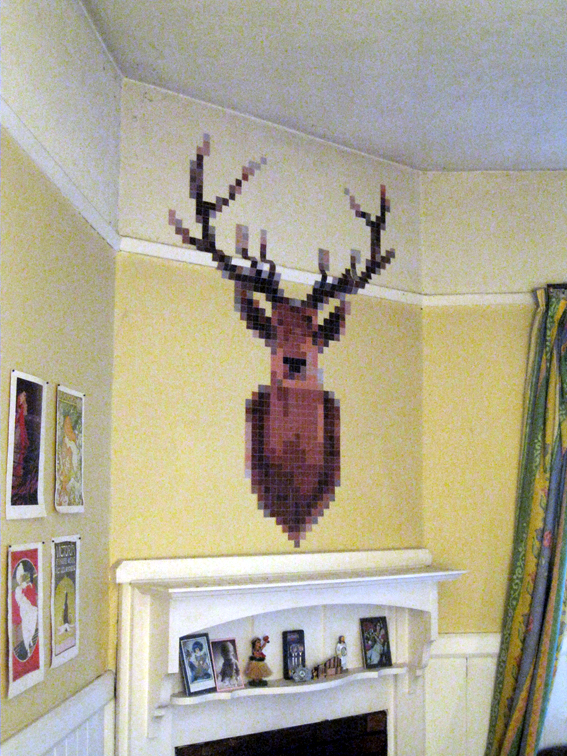 Pixel Deerhead Angle