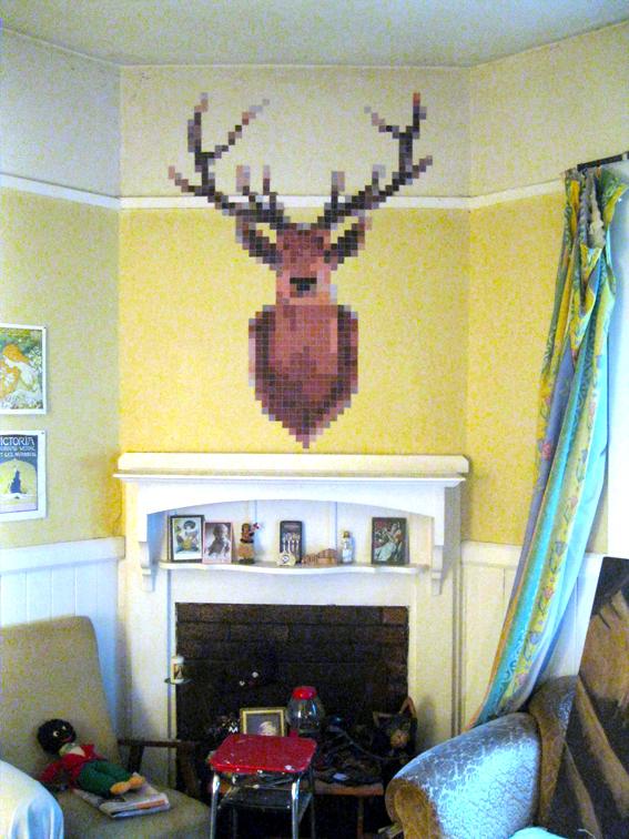 Pixel Deerhead