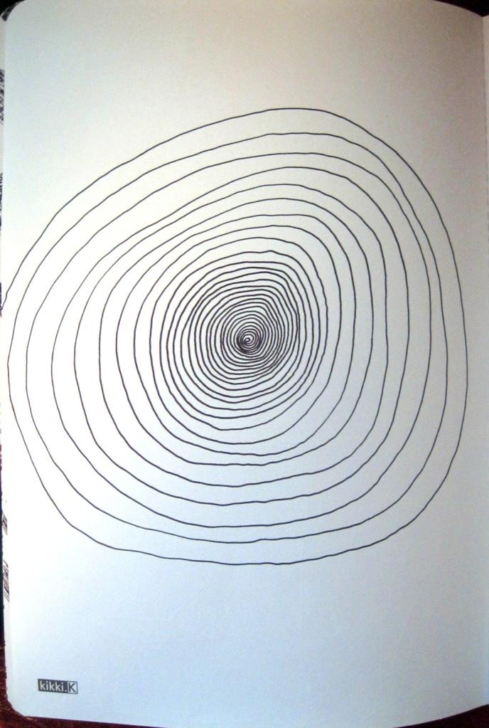 Vortex - hand drawn