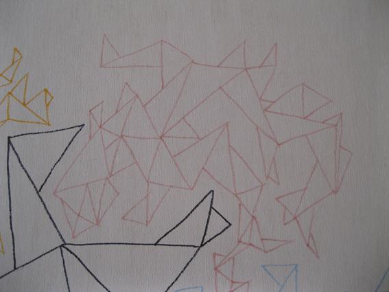 Peach Triangles