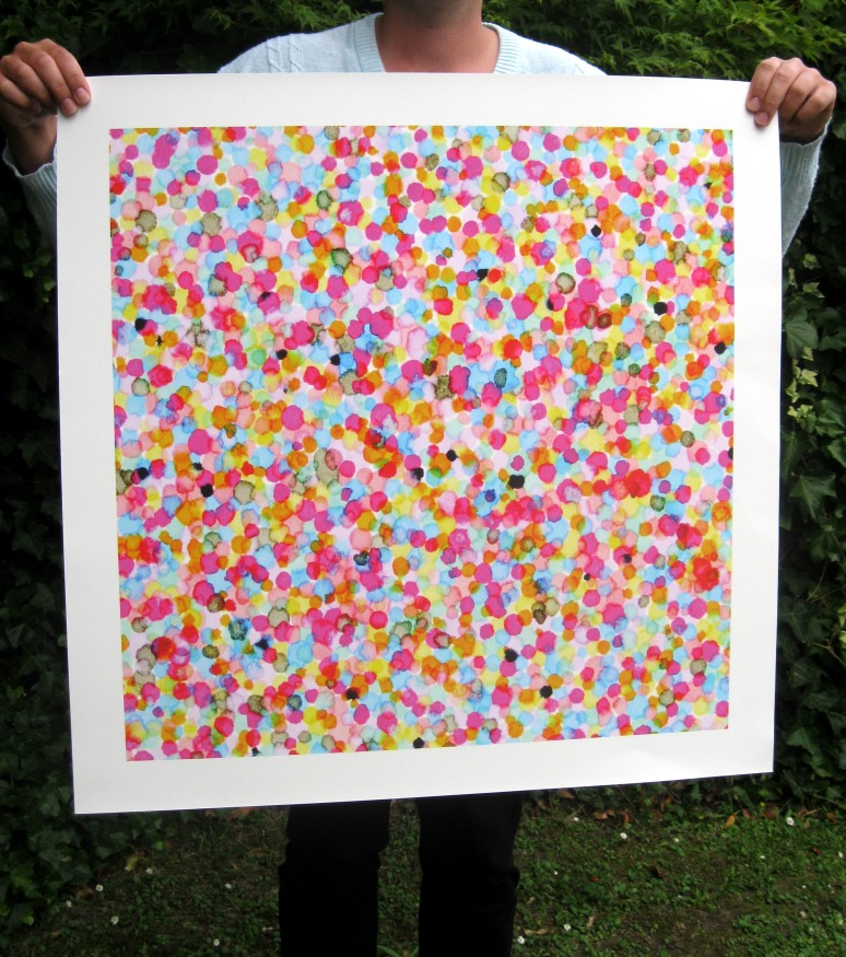 Coloured Dots #1 Print