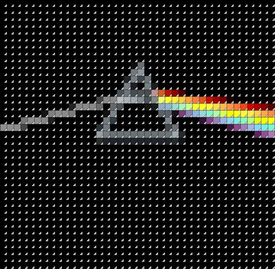 Pink Floyd Dark Pantone