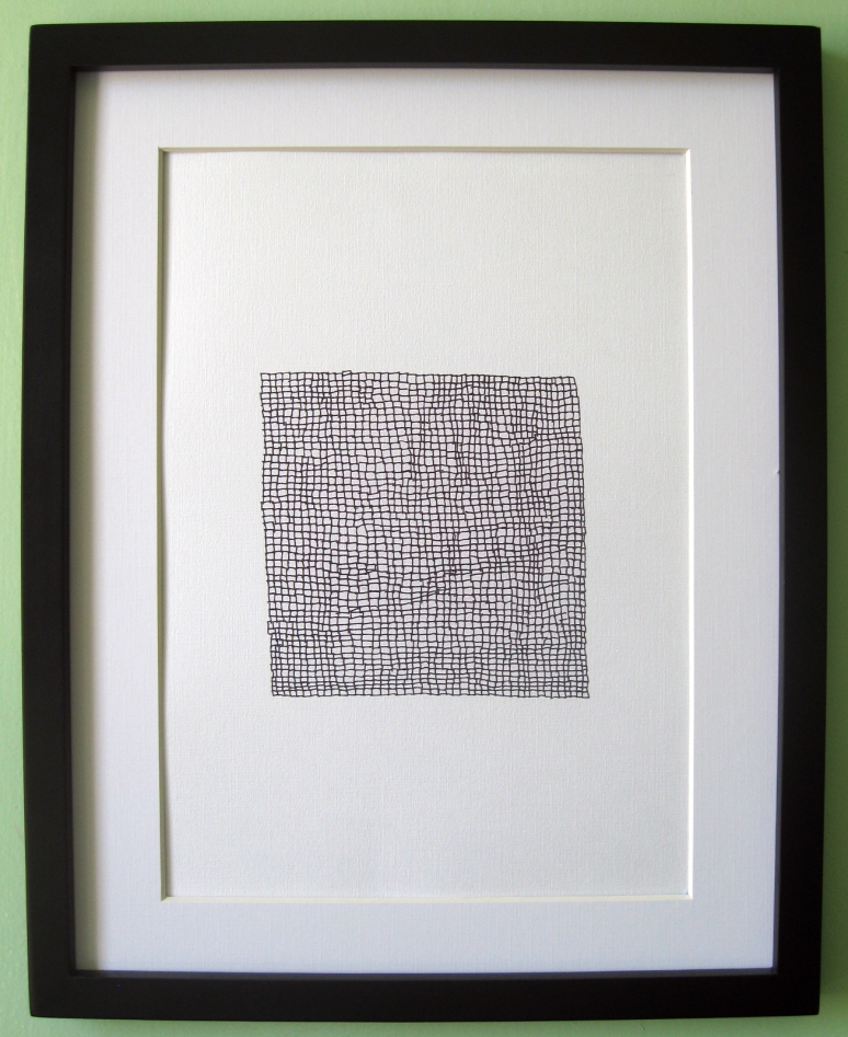 Squares Print Frame