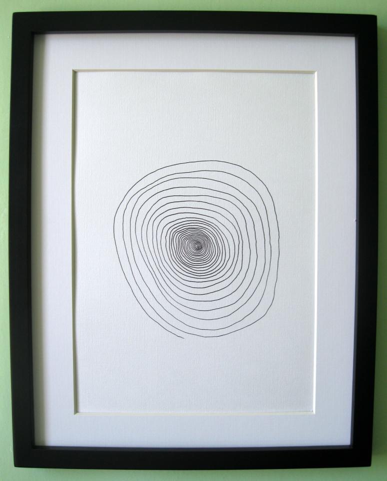 Vortex Print Frame