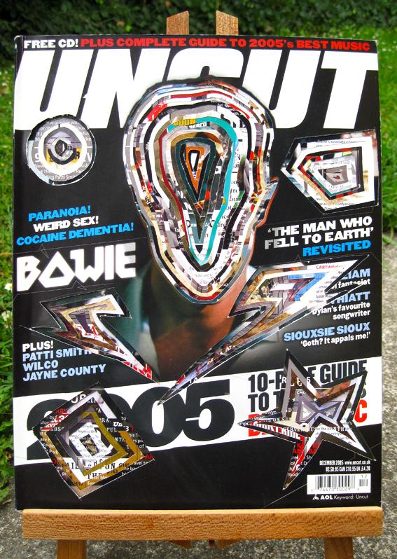 Bowie Magazine Cutup