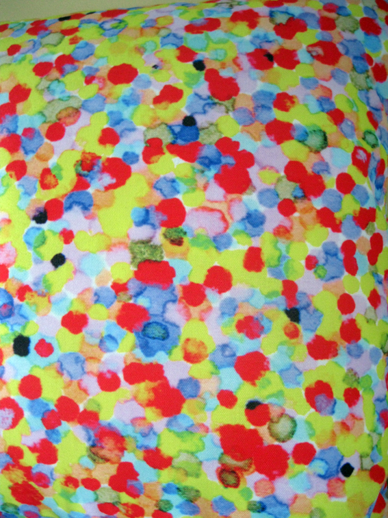 Coloured Dots Red Yellow 4