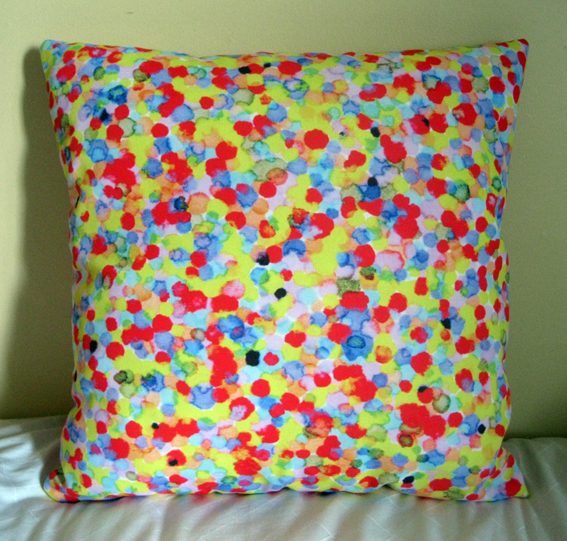 Coloured Dots Red Yellow