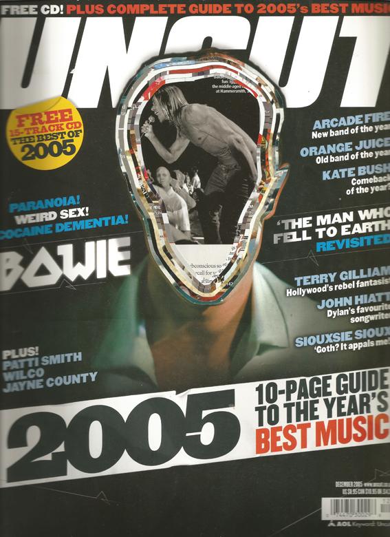 Magazine Bowie - Iggy